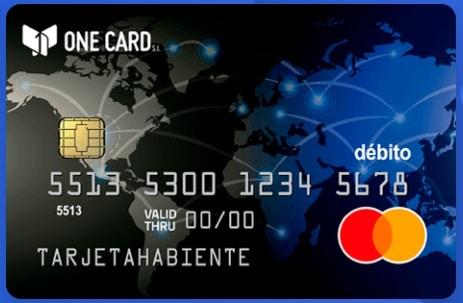 tarjeta empresarial one card