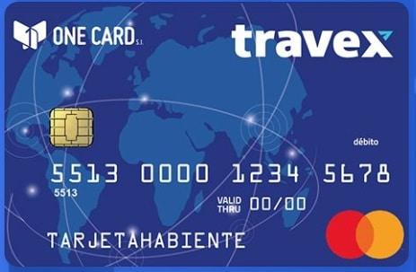 tarjeta travex one card