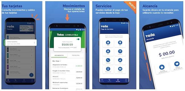 toka easyvale aplicación móvil