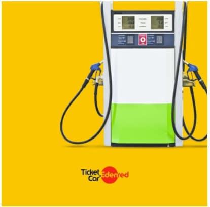 vales de gasolina ticket card edenred
