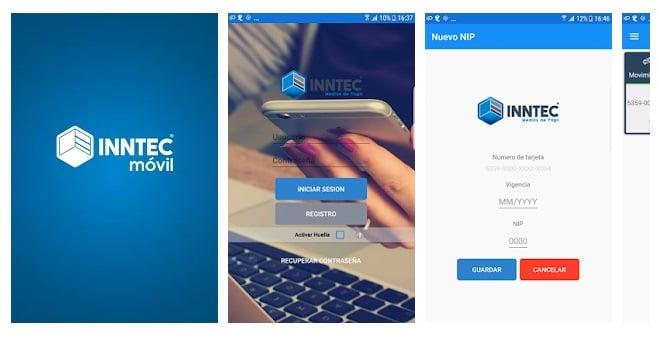 aplicación móvil inntec