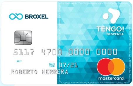 tarjeta de despensa TENGO Broxel