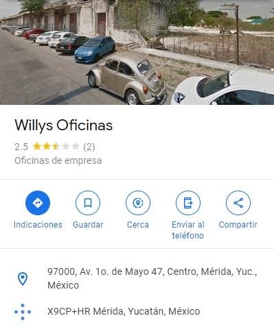 abarrotes willys dirección mx