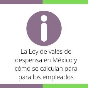 Ley de vales de despensa en México